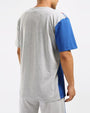 BIG AND TALL PAIDBY THE STREET SHIRT-COLOR: HEATHER GRAY