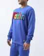 BIG AND TALL MOBBIN CREWNECK-COLOR: BLUE