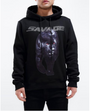 BIG AND TALL STONED SAVAGE PANTHER HOODY