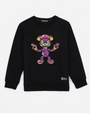 KIDS ZOMBIE BRAIN BEAR CREWNECK