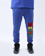 BIG AND TALL MOBBIN SWEAT PANT-COLOR: BLUE