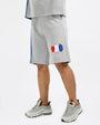 BIG AND TALL PAIDBY THE STREET SHORT-COLOR: HEATHER GREY