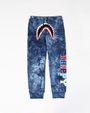 KIDS TRIPPY TIE DYE SHARK JOGGER