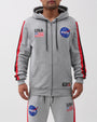THE MEATBALL SPACE SUITE ZIP-FRONT HOODY