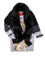 LEGEND TRI COLOR CAR COAT