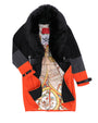 ICON TRI COLOR CAR COAT