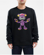 ZOMBIE BRAIN BEAR CREWNECK