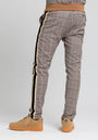 STRIPED GLEN PLAID TRACK PANT