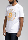 BITCOIN EMBOSSED SS SHIRT