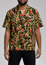 TROPICAL 8 BUTTON DOWN SHIRT