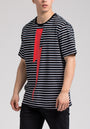 STRIPED BOLT SS SHIRT
