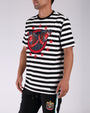TWIN ROTTWEILER STRIPED SS SHIRT