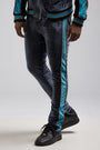 Color Block Velour Pant