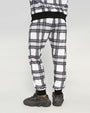 SHARKMOUTH PLAID PANT