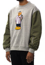 Aviator Bear Crewneck