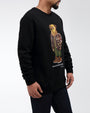 MAVERICK BEAR CREW NECK SWEATSHIRT