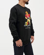 FOOTBALL PROTEST BEAR CREW NECK SWEATSHIRT