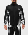 DAPPER STRIPE TRACK JACKET