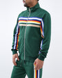 JEFFREY STRIPE TRACK JACKET