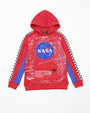 GREAT SPACE RACE MEATBALL HOODY-color: red