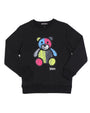 KIDS PAISLEY BEAR CREWNECK