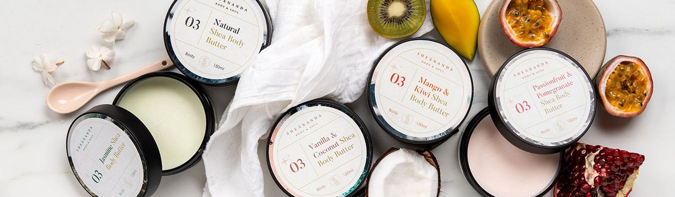 body butter collection - sheananda