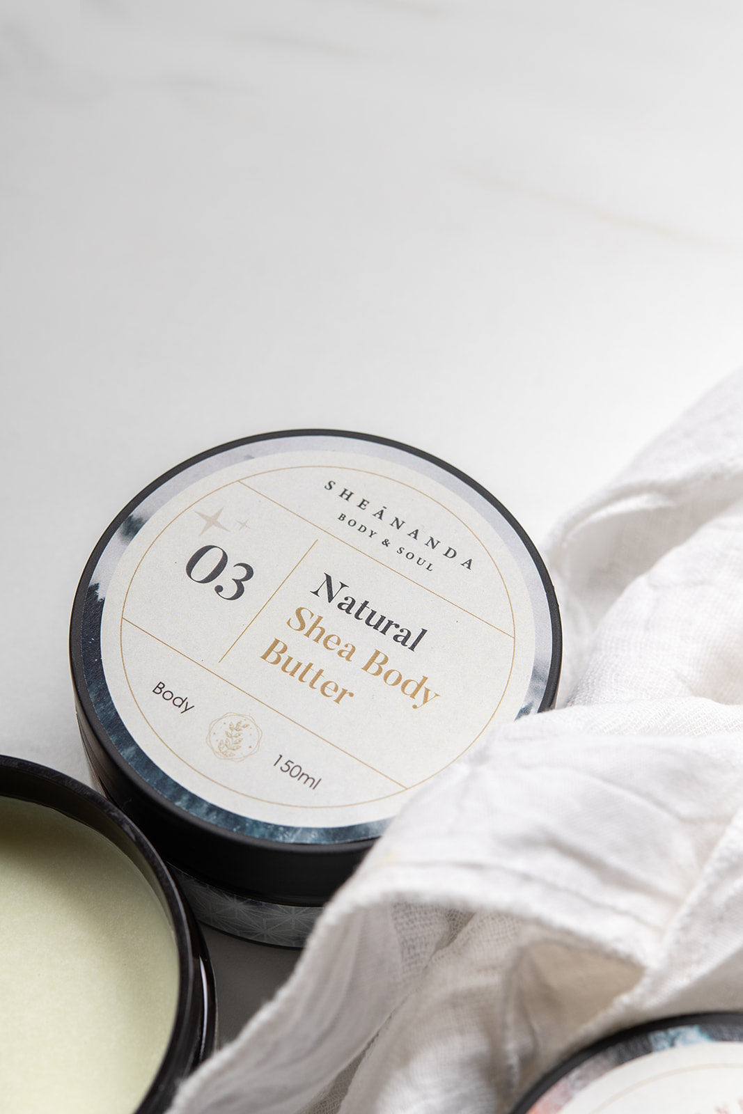100% Natural Body Butter: Shea Butter, Olive Oil, Cocoa Butter & Coconut Oil