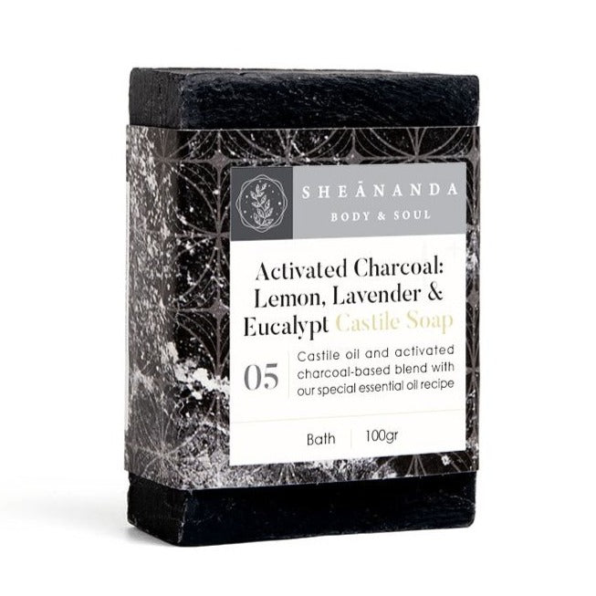 Activated Charcoal Castile Soap