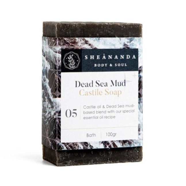 Dead Sea Mud Castile Soap
