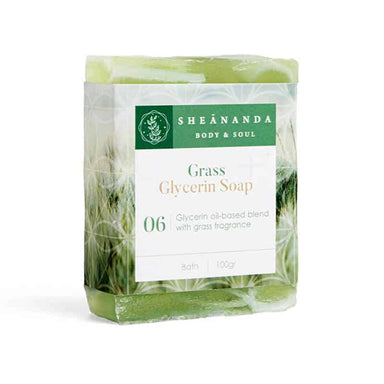 Grass-Glycerin-Soap
