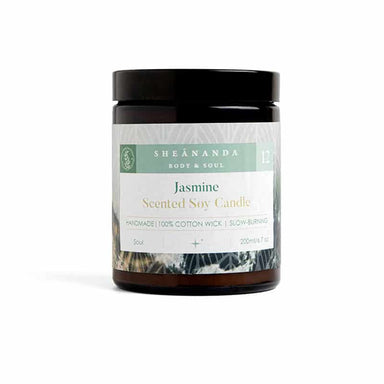 Jasmine-Scented-Soy-Candle