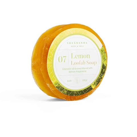 Lemon-Loofah-Soap