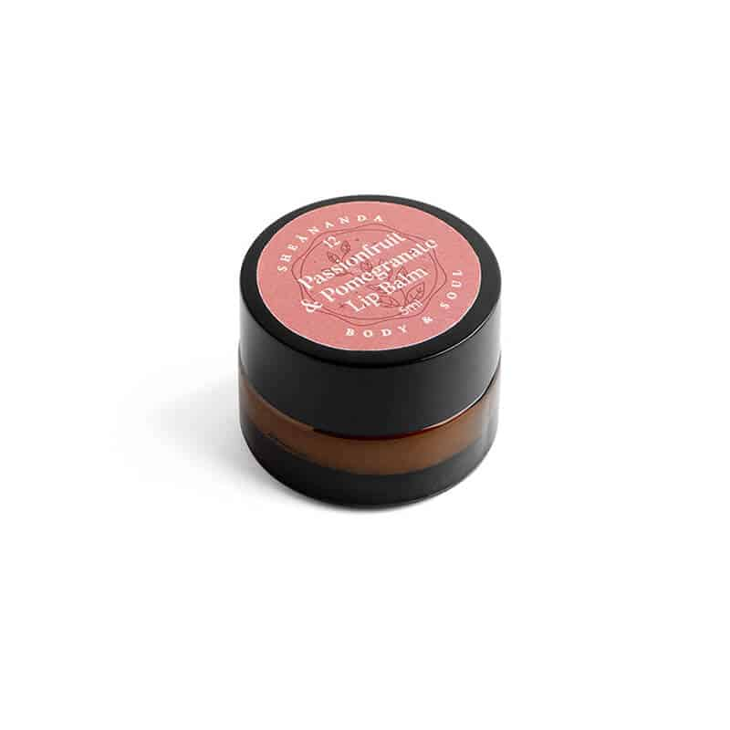 Natural Lip Balm Passionfruit Pomegranate