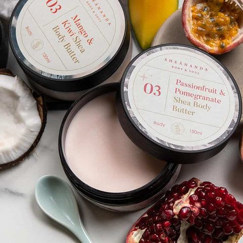 Shea Butter Pomegranate
