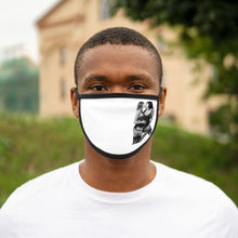 Load image into Gallery viewer, Sexy Moves Graphic Labelled Design Unisex Fabric Reusable Facemask 100% Cotton Inside Mixed Print And White Color