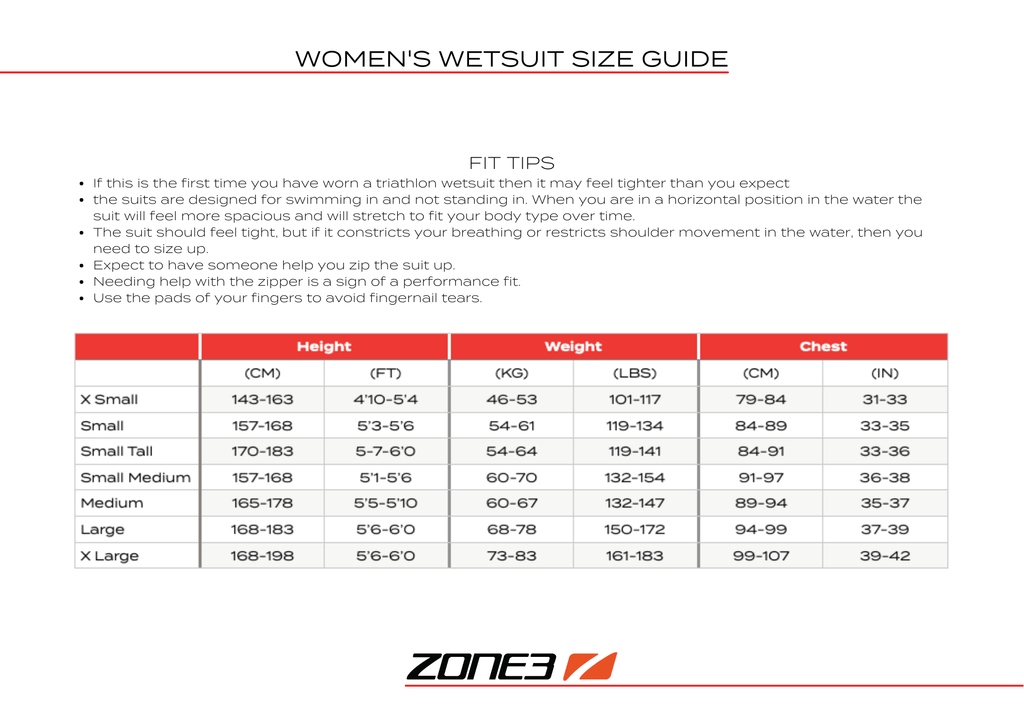 zone3-womens-wetsuit-size-guide