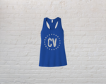 CV Logo Tank - True Royal Blue