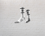CV Classic Crew Socks - White COMING INSIDE GYM STORE SOON