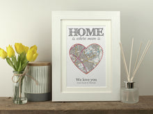 Load image into Gallery viewer, Personalised Home Is Where Mum Is