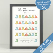 Load image into Gallery viewer, Personalised Class Backpack Print