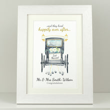 Load image into Gallery viewer, Personalised Just Married Carriage