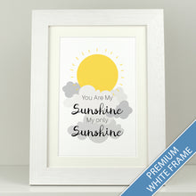 Load image into Gallery viewer, Nursery Print 'You Are My Sunshine'