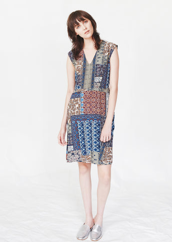 Dagg & Stacey Gerrit Dress.  Printed fit and flare dress.