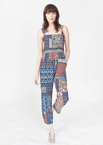 Dagg & Stacey Kit Jumpsuit.  Printed cropped jumpsuit.