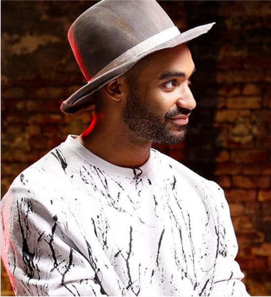 SAXX ManTalks series guest musician and DJ and son of NBA all-star Zeke Thomas
