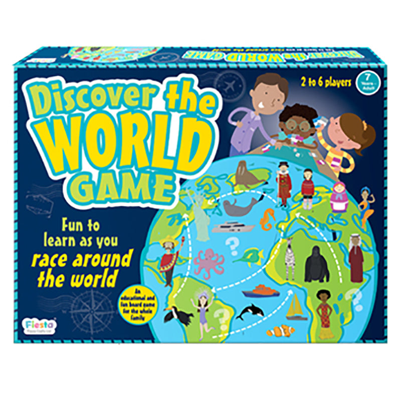 Discover the World Board Game - Steam Rocket