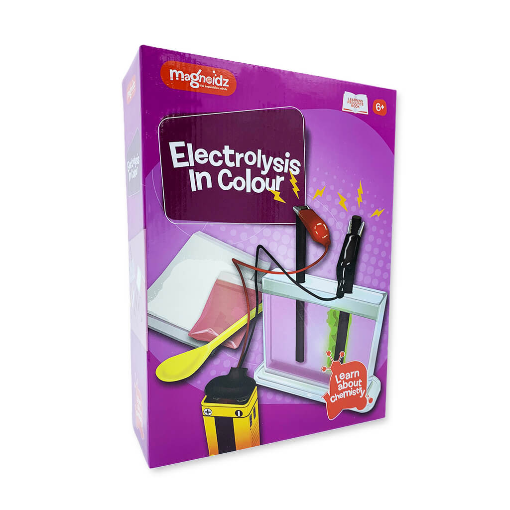 Electrolysis in Colour Science Kit - Steam Rocket