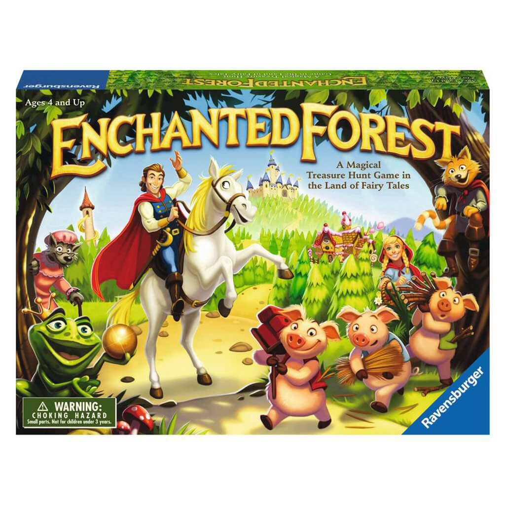 Enchanted Forest Memory Board Game - Steam Rocket