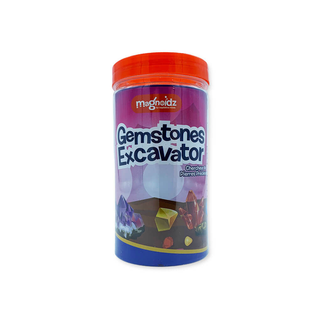 Gemstones Excavator Geology Fun Tube - Steam Rocket