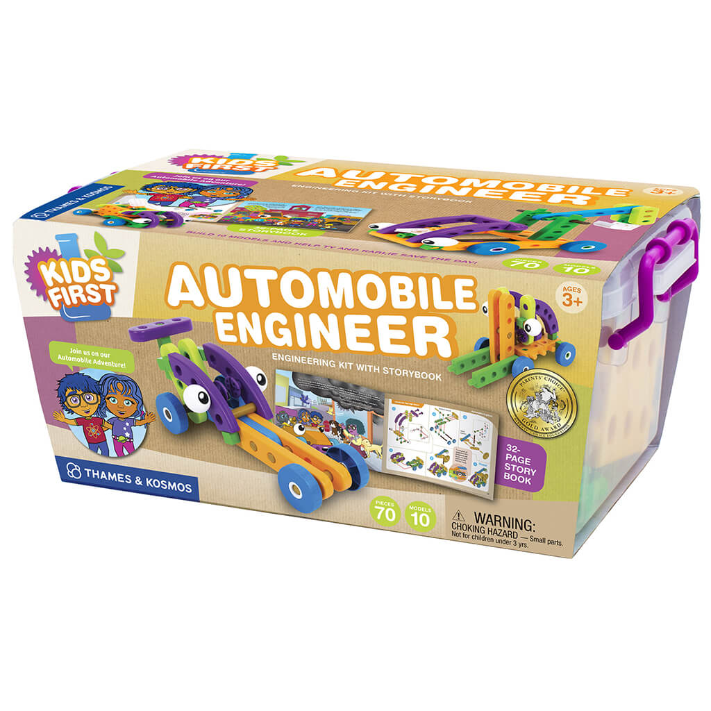 Automobile Engineer by Kids First - Steam Rocket